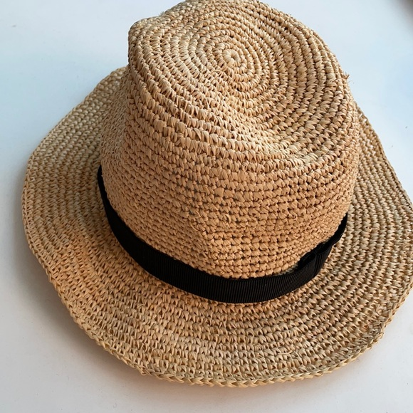 J.CREW Packable Straw Hat 👒 Size S/M